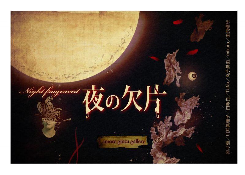 画像1: 【会期延期】♢アモーレ♢ 夜の欠片 5/10(月)〜5/16(日)⇒会期未定 (1)